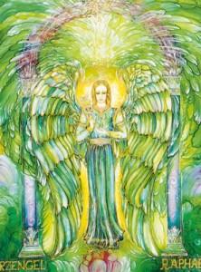 Engelkarten-Poster - Erzengel Raphael