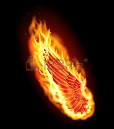 16642492-bal-piros-szárny-tűz